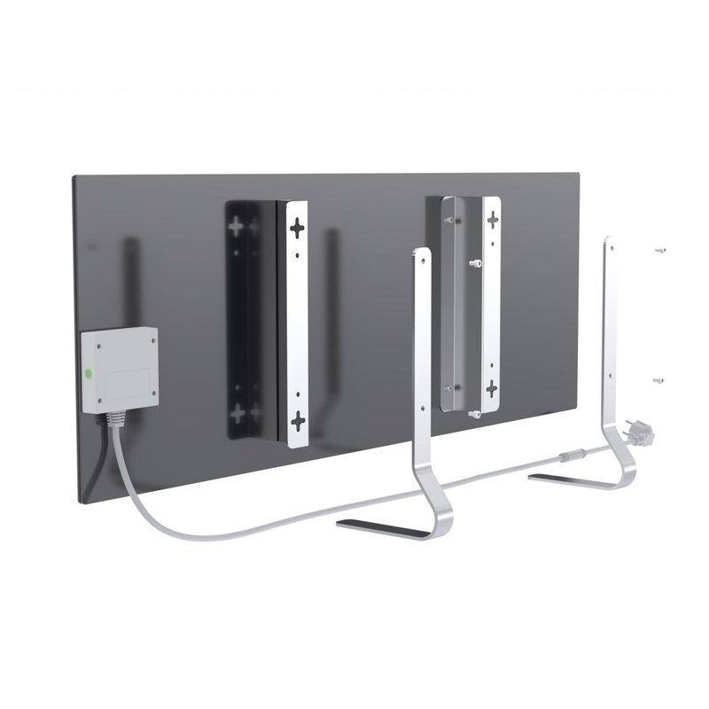 Smart ECO-friendly Infrared Heater Perenio Joule, Black